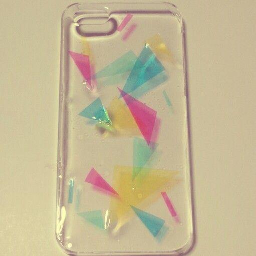レジンのiPhoneケース