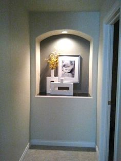 how to decorate a niche in a wall - Google Search