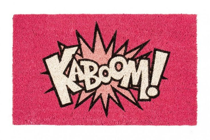"Comic Fußmatte Comic ""KABOOM"""