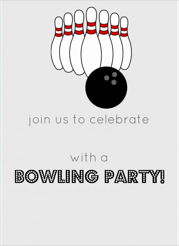 Related Image With Images Party Invite Template Bowling Party Invitations Bowling Birthday Party