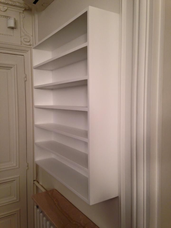 PRODIJJ - Menuiserie à Paris - Range CD en médium blanc