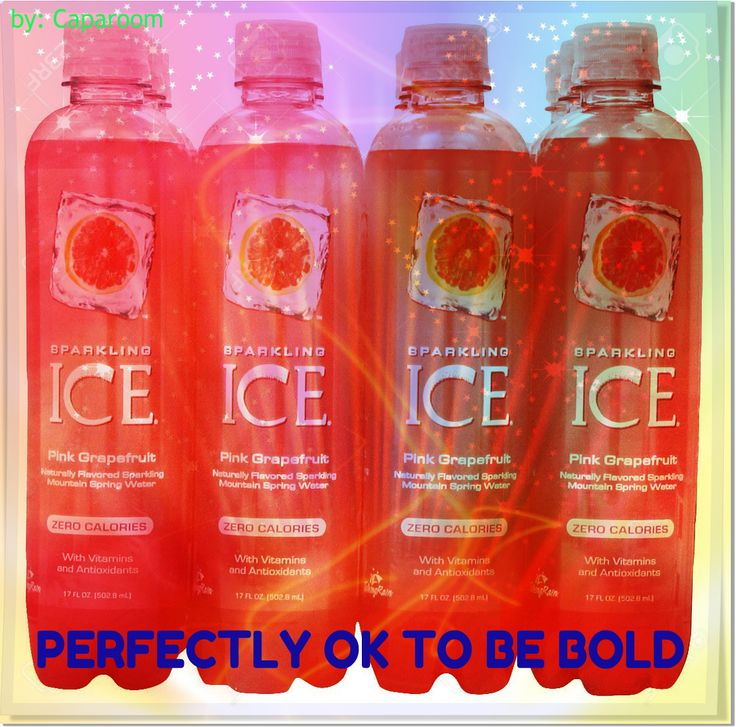 Each of the flavors is made from sparkling spring water and natural juices, sweetened with Splenda and supplemented with vitamins and antioxidants. A single bottle of Sparkling ICE contains 20-percent daily value of vitamin B2 (riboflavin), B3 (niacin), B5 (pantothenic acid), B6 (pyridoxine), B7 (biotin) and vitamin D3, plus 200% daily value of vitamin B12. B vitamins play an important role in releasing energy from food and forming red blood cells that transport oxygen throughout the body.