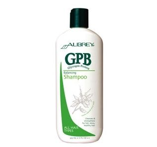Aubrey Organics GPB Glycogen Protein Balancing Shampoo: Feed your hair a healthy, balanced diet with this protein-enriched shampoo. For all hair types. Rehydrate and re-energize your hair with this nourishing formula that increases softness and manageability as it cleanses. Moisturizing herbal oils smooth hair fiber and infuse it with vitamins to leave hair full, healthy and lustrous.