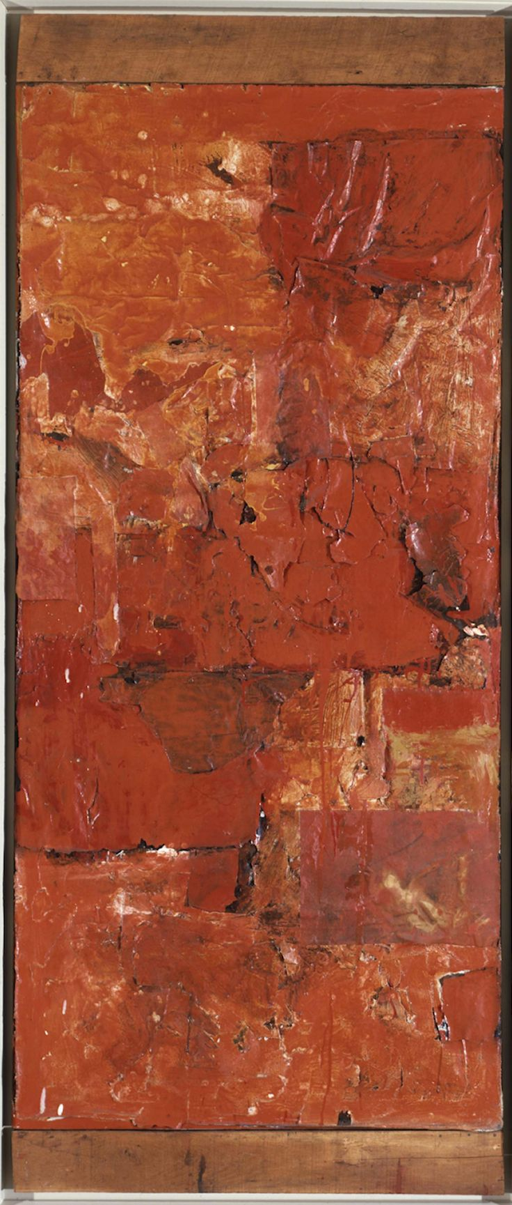 Untitled (Red Painting) | Robert Rauschenberg Foundation