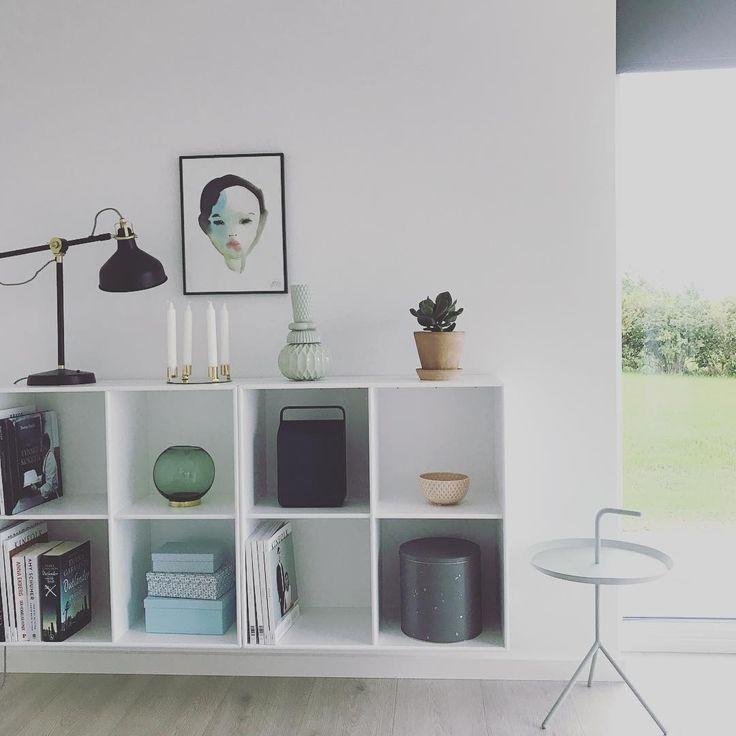 Need more books now 📔🙈#newbookcases #newhouse #interiordesign #montana #aytmdesign #vifa #finnsdottir #bobnoon