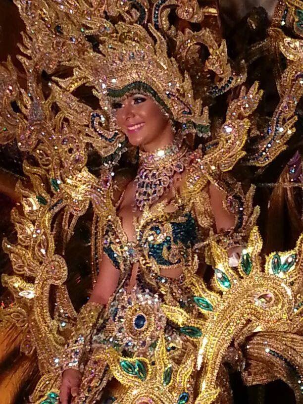 Maruquel Gonzalez, Calle Arriba de Las Tablas. Recibiendo Año nuevo 2014 -  Panamá