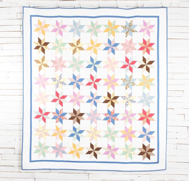 """Moda 30's Playtime Oomph Quilt Kit - 82"""" x 92"""""""