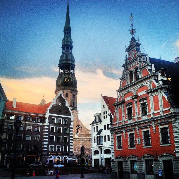 Rātslaukums | The Town Hall square in Rīga, #Rīga