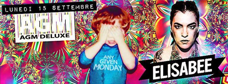 Any Given Monday lunedì 15 settembre