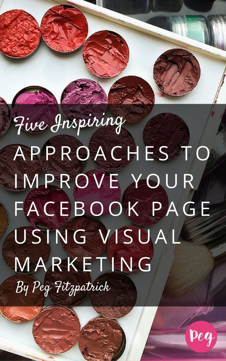 Managing a Facebook Page can be hard! Get inspiration to revitalize your Facebook Page with visual marketing with these proven tips.: