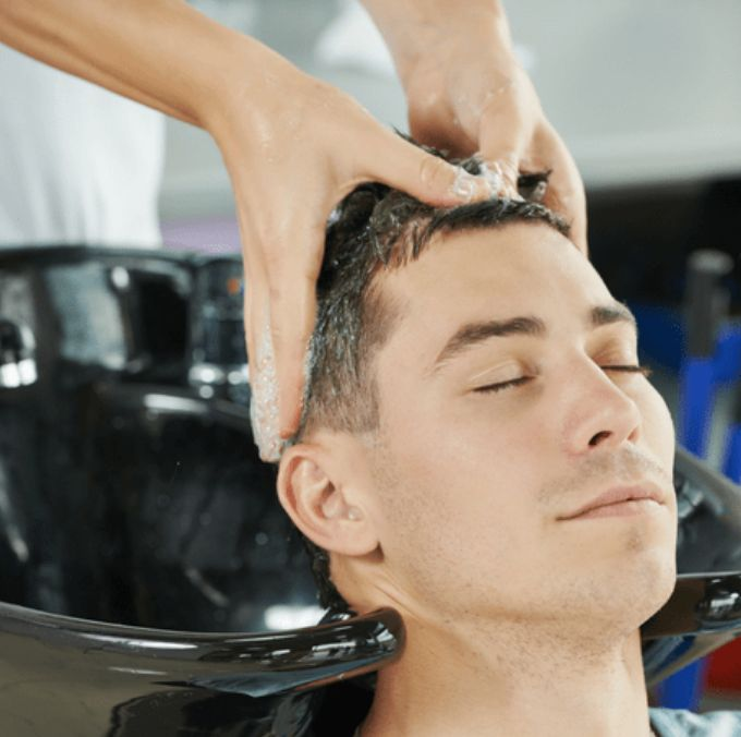 Scalp massages for healthy hair  #haircare