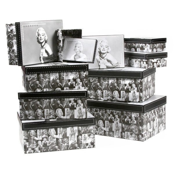 Amrita Singh Black & White Marilyn Box Set ($150) ❤ liked on Polyvore