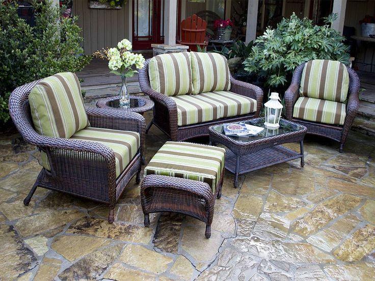 best 25+ wicker patio furniture ideas on pinterest | grey basement ... - Patio Furniture Design