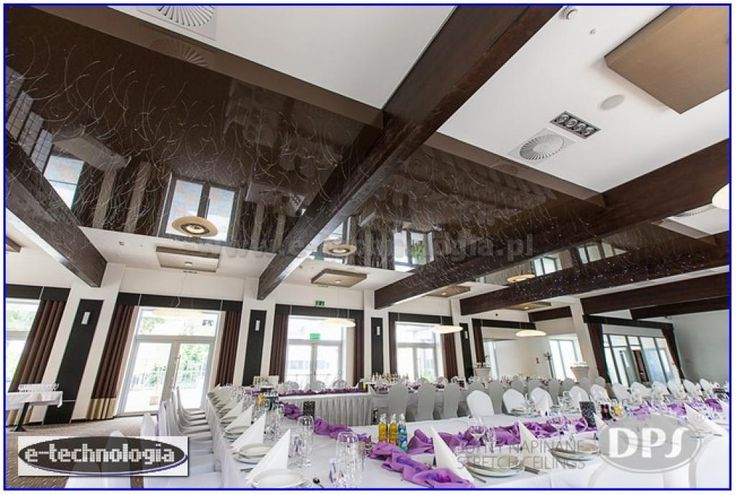 wyposażenie sali - sufit lustrzany w sali - sufity do sali e-technologia