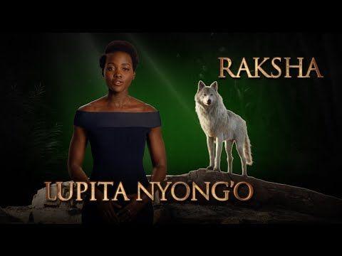 Meet Mowgli's wolf mother Raksha voiced by Lupita Nyong'o in THE JUNGLE BOOK | moviesharkdeblore