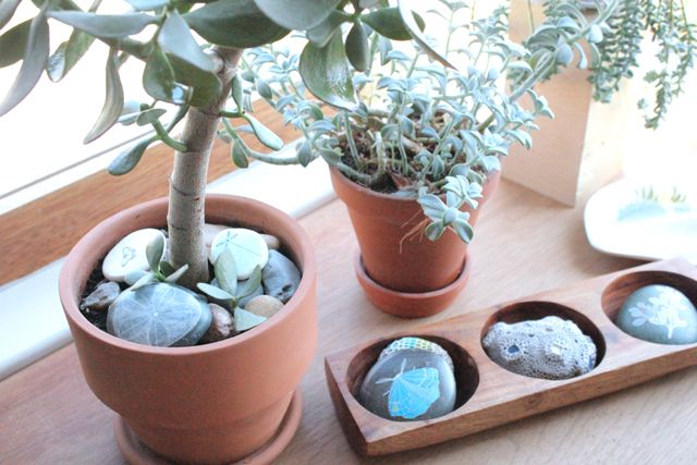 Display nature 2.Decor, Cleanses, Cleaning, Painting Rocks, Crafty Fun, Display Nature, Painted Rocks,  Flowerpot, Rocks Art