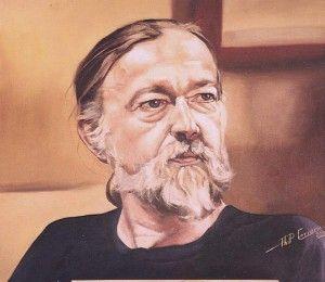 Jack  46cm x 50cm Oil on Canvas board. Jack Bosmans. Phillip Carrero.