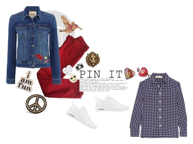 Pin It by paperpark on Polyvore featuring Marni, Paige Denim, Comptoir Des Cotonniers, maurices, ban.do, Chico's, Punky Pins, Design Lab, Yves Saint Laurent and Decree