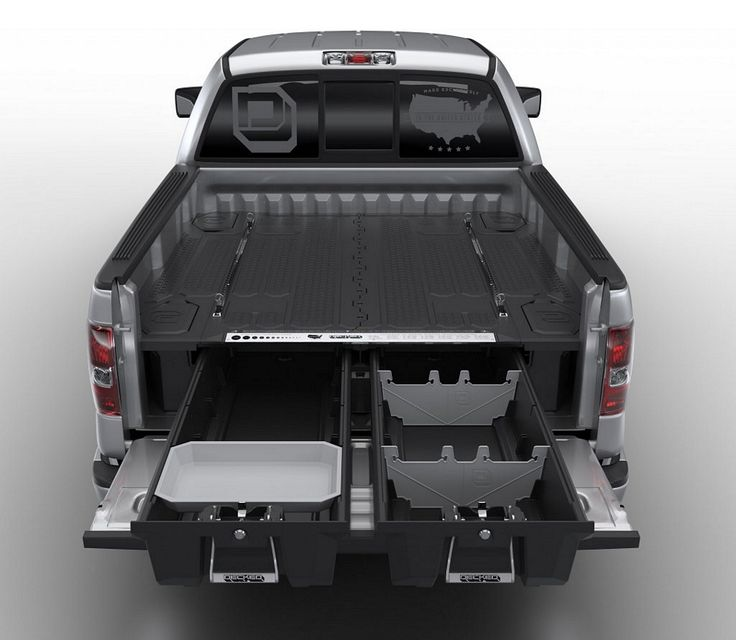 Decked Adds Drawers To Your Pickup Truck Bed For Maximizing Storage Space - for our work  sc 1 st  Pinterest & Best 25+ Pickup truck accessories ideas on Pinterest | Toyota ... Aboutintivar.Com