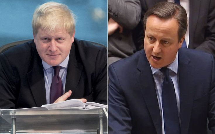 "#CAMERON #SAVAGES BORIS OVER ""#BREXIT""..."
