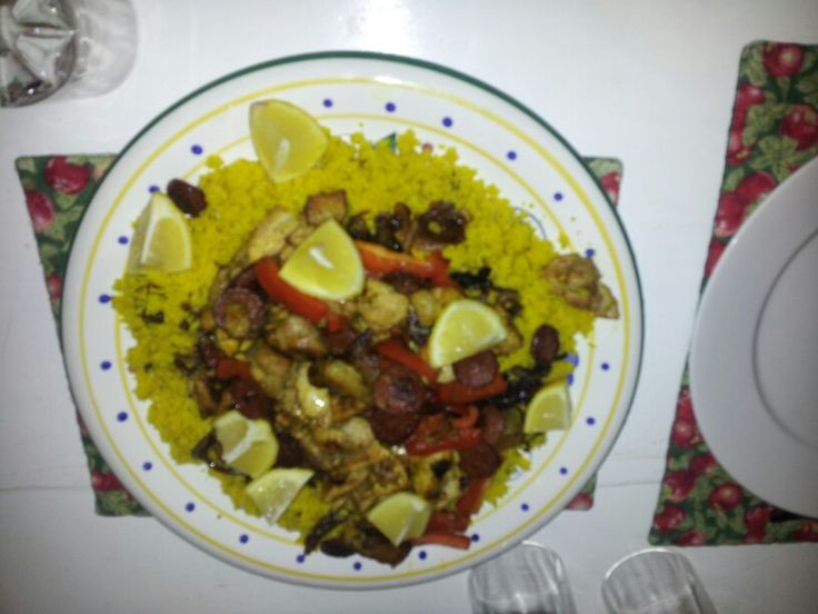 Chicken and lemon couscous