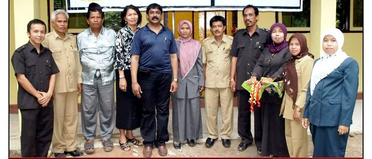 With Goverment and school staff after the construction of School for Earthquake victims in Padang