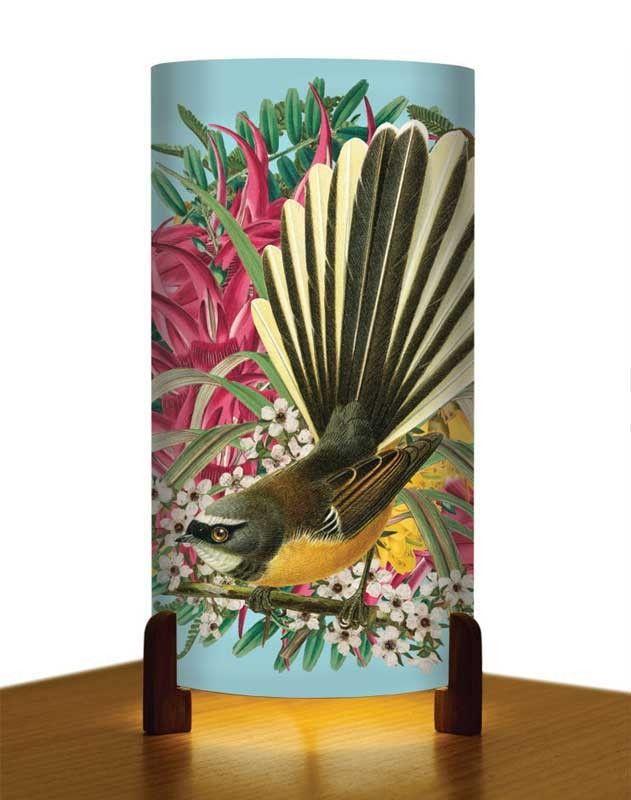 New Zealand Botanic Fantail Table Lamp