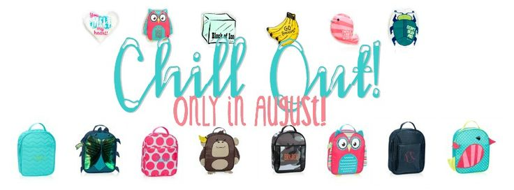 Thirty One August special facebook banner chill-icious thermal