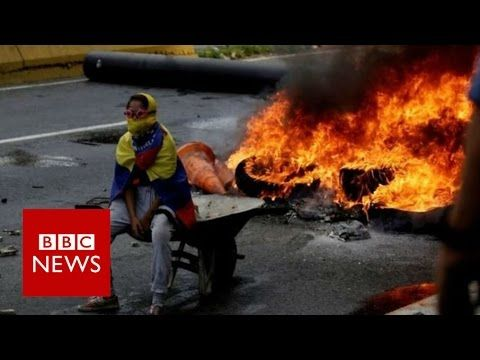 Venezuela protest deaths rise to 24 - BBC News
