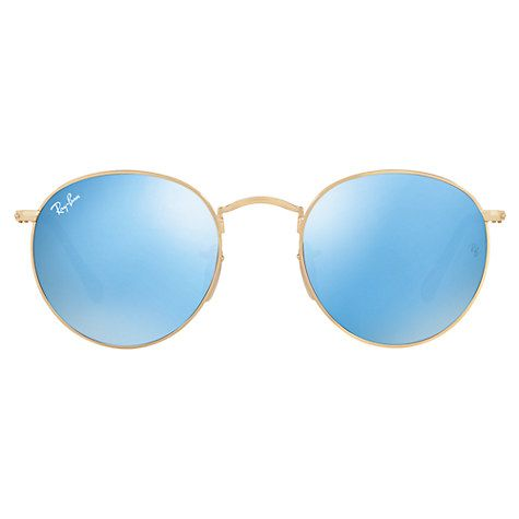 john lewis mens ray ban sunglasses  buy ray ban rb3447 round sunglasses online at johnlewis