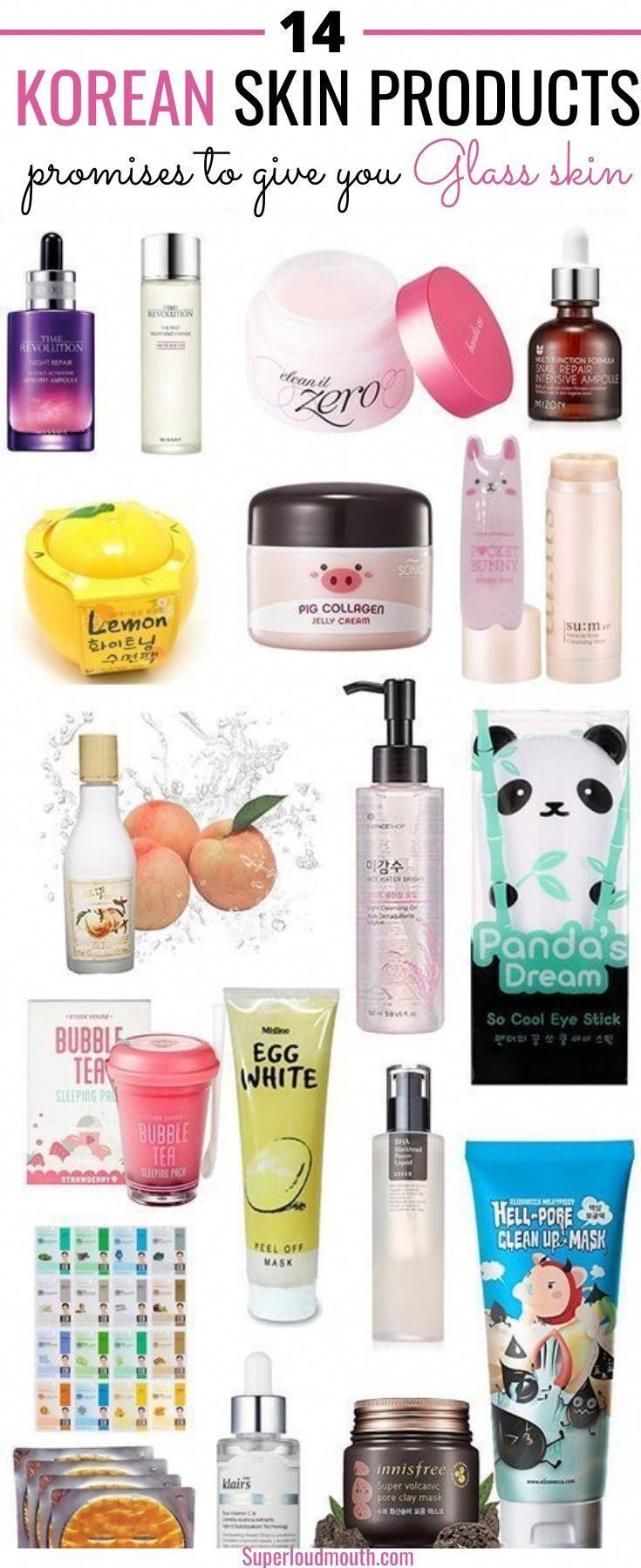 14 Korean Skin Products Promises To Give You Glass Skin Haircareoil Glass Haircareoil Korean Products Promises Glass Skin Natural Skin Care Skin Care