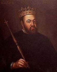 Joao III (1502 - 1557). King of Portugal from 1521 until his death in 1557. He married Catherine of Castile and children.