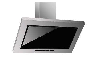 μοντέρνος απορροφητήρας κουζίνας με γυαλί και ανοξείδωτο,SOLIDO PYRAMIS 90 ΕΚ ΤΙΜΉ 320 Ε ΜΕ ΦΠΑ 60ΕΚ ΤΙΜΉ 300 ε με φπα