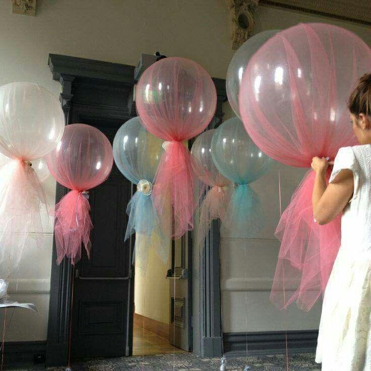 Decoración con globos gigantes