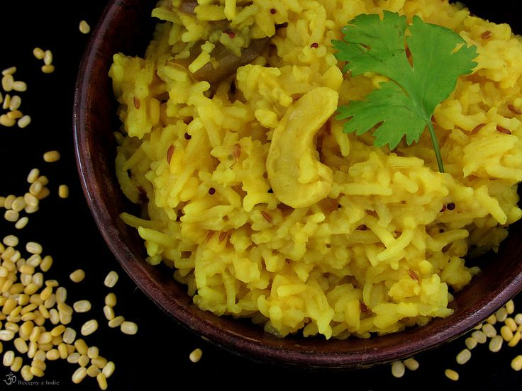 Recepty z Indie: Moong dal khichdi