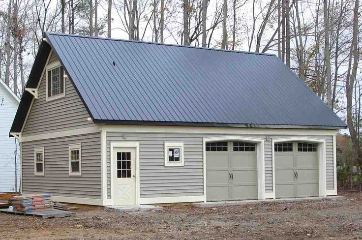 Metal garage with apartment above iimajackrussell gambrel for Metal building garage apartment