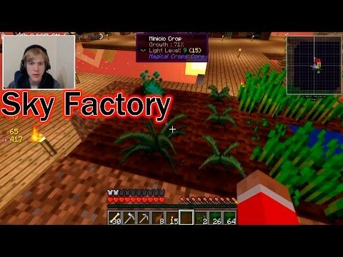 Minecraft Sky factory - Minicio Farm