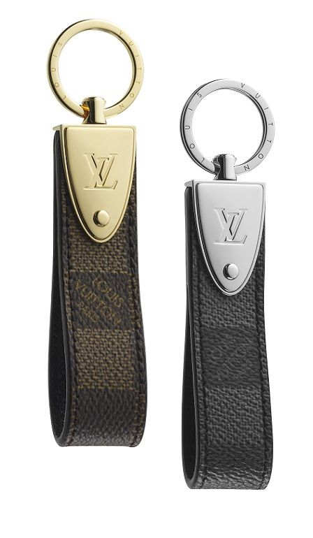 Ebène and Graphite Louis Vuitton. Every gentleman needs a quality key chain. Mens fashion. accessories