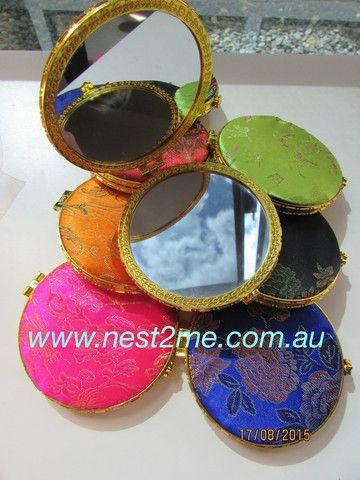 More coming soon! Babywearing Mirror - Compact Handheld Silk - Choose Colour