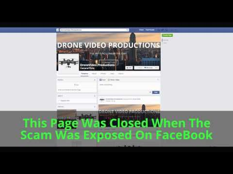 Drone Video News SCAM http://dronevideonews.com
