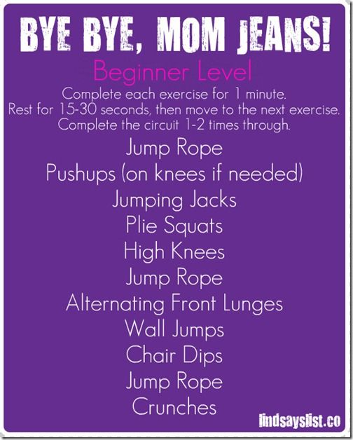 I just did this routine and it kicked my butt. Going to do it three times a week though! Mom365 Summer Fitness Challenge and Giveaway - Mom365.com