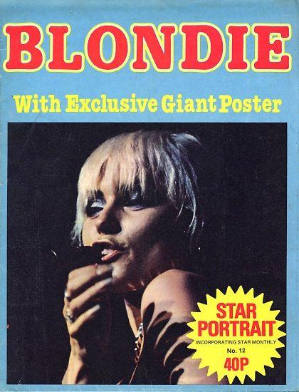BLONDIE - STAR PORTRAIT POSTER MAGAZINE -