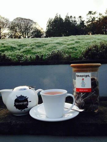 Spiced winter tea at Hammet House