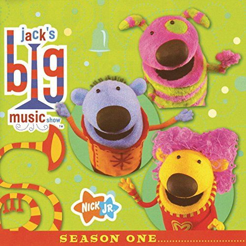 Jack's Big Music Show Season One, 2007 Parents' Choice Award Recommended Award - Audio #Music