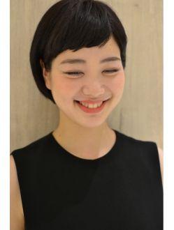リュドール 名古屋(Rue D'or NAGOYA)黒髪ショートボブ☆