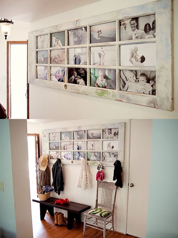 17 best ideas about homemade picture frames on pinterest for Picture frame crafts for adults
