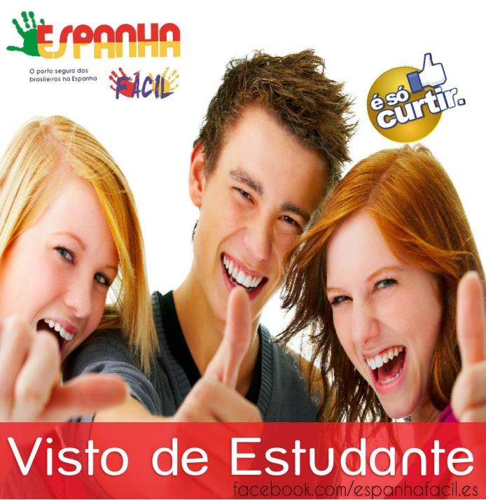 Visto de Estudante  www.espanhafacil.com