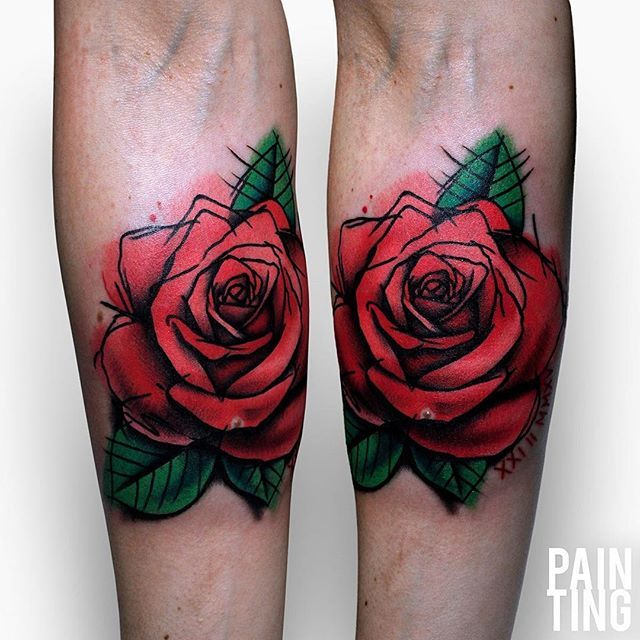 just a classic Pain Ting rose :)