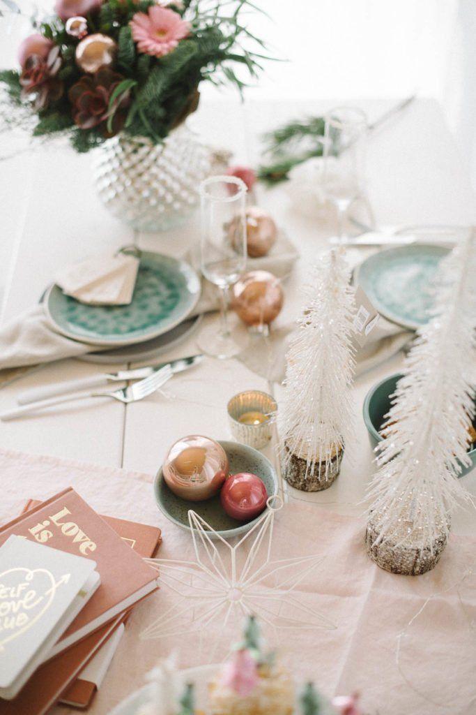 Frozen Dreams Zarte Weihnachtsdekoration In Pastellfarben