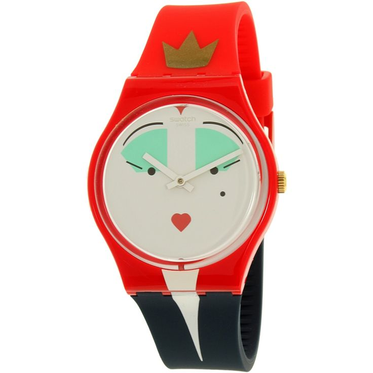 Bright! Kicky! Playful! Quirky! Wear this when it doesn't matter! Why not have some fun for a change? Ditch the old solemn and somber dressed up looks for something totally wild, wacky, and off-the-wall! Shock your friends! Amaze your co-workers! Baffle your bosses! This unique Swatch watch is an absolute kick! Its bright original-looking color combinations and revolutionary design is not just awe-inspiring, it's plutonium!